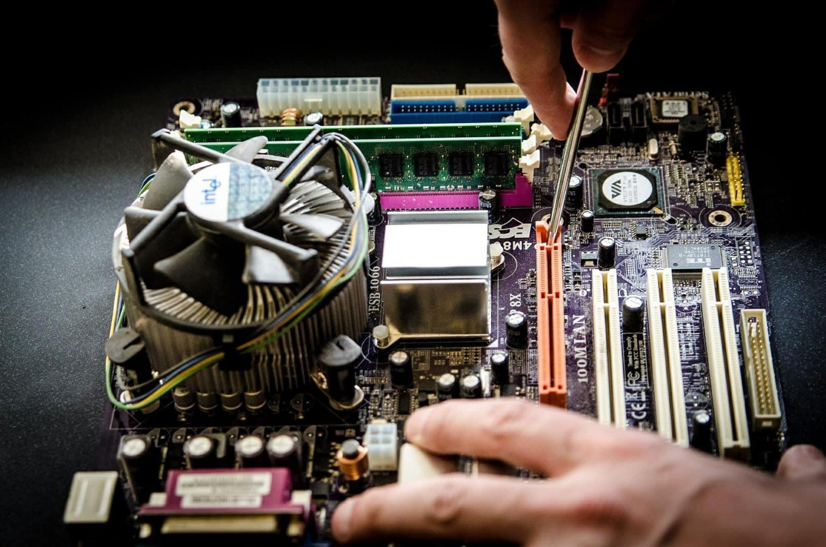 montaje, reparación